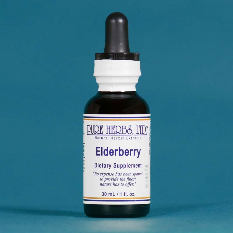 Elderberry - Pure Herbs - 1 oz