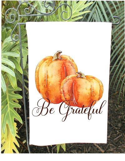 Be Grateful Garden Flag