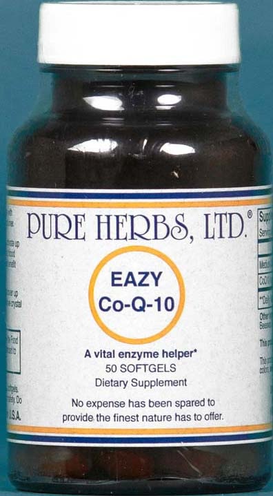 Easy Co-Q-10 - Pure Herbs