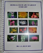 Herbal Research Group Library Dr. A.B. Howard (PDF)