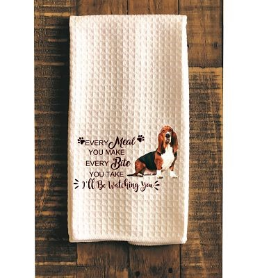 Basset Hound Kitchen Towel