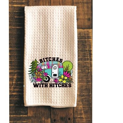 Bitches With Hitches Kitchen Towel