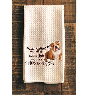 Bulldog Kitchen Towel