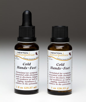 Cold Hands Feet - Newton Homeopathic