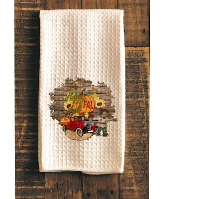 Happy Fall Y'All Kitchen Towel