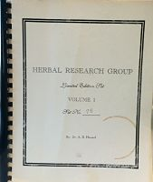 Herbal Research Group Limited Edition
